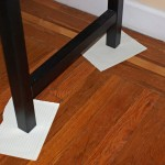 Put Paper Under The Legs Protect Floor From Any Paint Drips