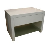Quartz Low Bedside Table Chest Occasional Sunshine