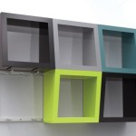Qubicles The Qubicle Funky Shelves Bold Bright Colors Amazing