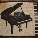 Quilted Grand Piano Mug Rug Pieces That Little