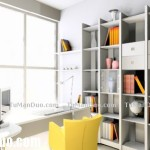 Reading Room Design Layout Bookshelf Decor