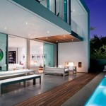 Really Modern Pool House Interior Design Home Living