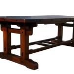 Rectangle Shape Unique Wooden Table Design Dining Room Furniture