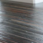 Recycled Leather Belts Turned Into Eco Friendly Flooring