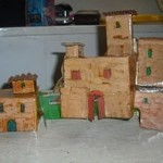 Recyclicling For Cardboard Houses The Christmas Crib