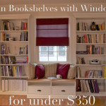 Red Oak Road Built Bookshelves Window Seat For Under