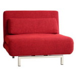 Red Sofa Chair Bed For Interior Design Ideas