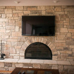 Refacing Brick Fireplace Design Ideas Pictures Remodel And Decor
