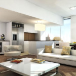 Rendered Living Room Rendering For Architecture Incredible
