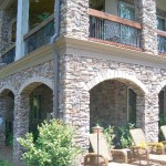 Residential Manufactured Stone Installations