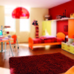 Rich Deep Colorful Bedroom Listed Painting Ideas Design