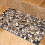 River Rock Bath Mat For Wedigsearches