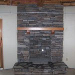 River Rock Fireplace Man Made Stone Firepit Your Ideas Are Our