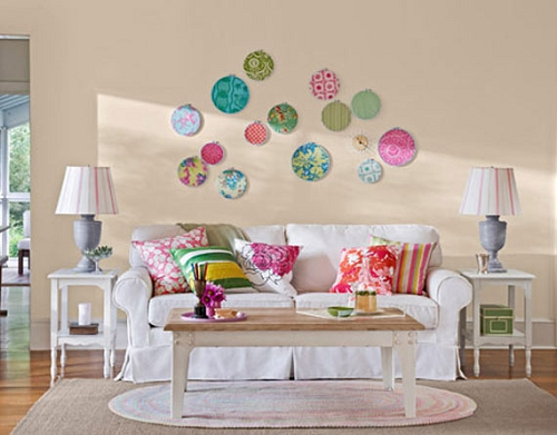 Room Decorating Ideas For Living Wall Decor