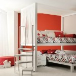 Room Inspiraitions Images Red And White Canopy Bed