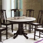 Round Marble Top Table Matching Chairs The Best Dining