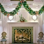 Rousing Fireplace Mantels Decorating Ideas For Christmas