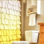 Ruffled Shower Curtain Inspired Anthropologie This Pattern