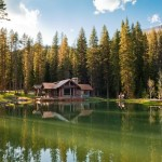 Rustic Mountain Cabin Retreat Big Sky Would Make Nice Vacation