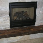 Rustic Reclaimed Wood Fireplace Hearth Antique Woodworks