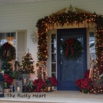 Rusty Heart Designs Christmas Front Porch Holiday