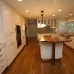 Sandy Springs Open Kitchen Island Traditional