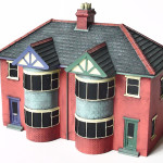 Scenix Semi Detached House Poly Ceramic Construction Scale