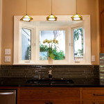 Selected These Pendants Over Their Sink For Beautiful Ambient Lighting