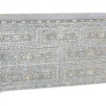Shalimar Mother Pearl Inlay Drawer Chest Drawers And