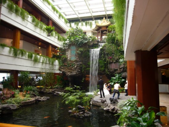 Shamiami Island Hotel Indoor Waterfall For The Home