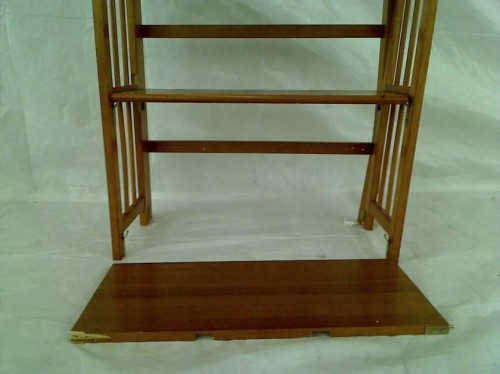 Shan Shelf Folding Stackable Bookcase Honey Oak Ebay