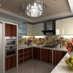 Shaped Kitchen Designs Green Apples