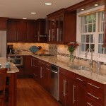 Shaped Kitchen May Able Accommodate Island Table