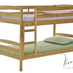 Short Shelley Bunk Bed Pine Sons