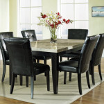 Silver Monarch Piece Marble Top Dining Room Set Sale Online