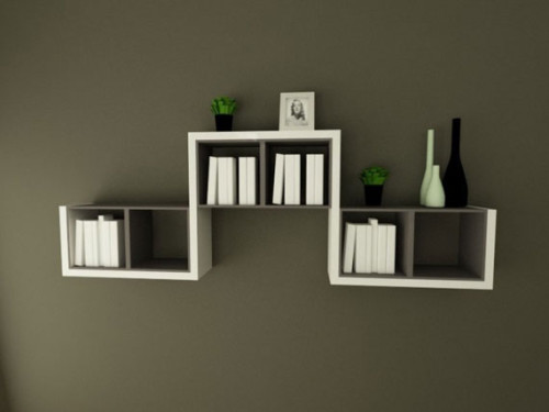 Simple And Decorative Wall Shelf Design Bhouse