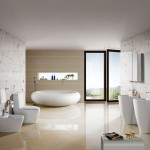Simple Bathroom Decor Soft Colors Home Design And Ideas