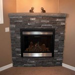 Simple Fireplace Design Stone Veneer
