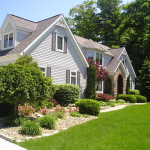 Simple Landscaping Ideas Give Wonderful View Backyard House