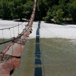 Simple Suspension Bridge Albania