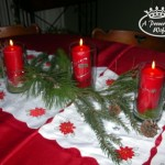 Simple Table Decorations For Christmas Party