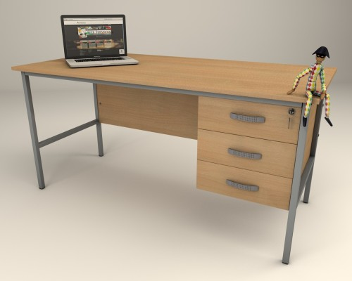 Single Pedestal Drawer Desk Standard Desks Quoteme