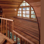 Ski House Wooden Decorative Wall Covering