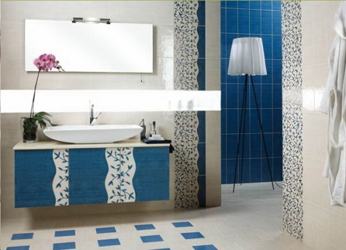 Small Bath Vanities Making Full Use