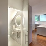 Small Bathroom Powder Room How Find Hidden Storage Your