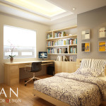 Small Bedroom Day View Interior Design Mrs Nga Apartment