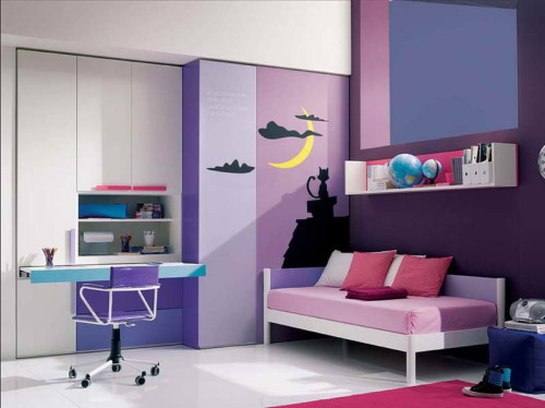 Small Bedroom Wall Color Ideas Modern Design