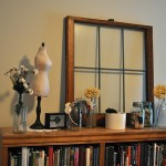 Small Bookcase Old Window Frame Cameras Antiques