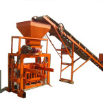 Small Concrete Solid Hollow Block Forming Machine China