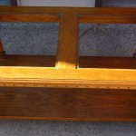 Small Glass Top Coffee Table Oak